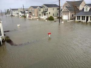 Hurricane Sandy damage in New York (Creative Commons)